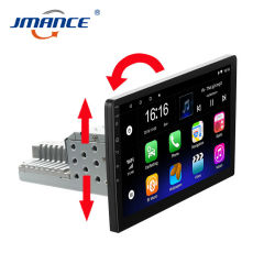 """Jmance 10"""" autoradio 1DIN GPS Android 9.1 2g Toevoegen 32 g multimediaspeler voor in de auto"""