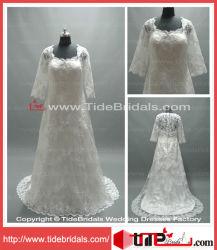 بالإضافة إلى حجم الزفاف فستان الزفاف زائد حجم العروس (LT2230)