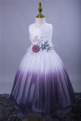 عيد ميلاد فتاة حفل زفاف على الطريقة الجديدة Sequin Flower 3-9 سنوات اللهم