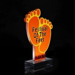 Metal promocional Dom Decoração Custom ferro barato World Cup Troféu Prêmio Promoção Prêmio Design Pessoais Troféu Prata Dom (019)