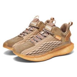 Mens Fashion exécutant Sneakers Hommes Chaussures de sport de plein air décontracté à l'aise respirante Yeezy Chaussures résistant à l'usure antidérapant