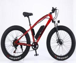 26*4,0 750W 1000W Big Power Fat Tire Electric Mountain E Bicicleta/bicicleta de nieve/bicicleta eléctrica con CE