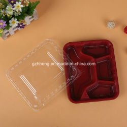 Het aangepaste Plastic Dienblad van het Snelle Voedsel van het Restaurant (het voedselcontainer van pp)