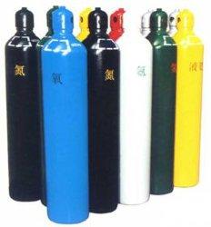 Heißes nahtloses Al-industrielles medizinisches Stahlargon der Verkaufs-4L 6.3L 10L 40L/CO2/Gas/Luft/Sauerstoffbehälter