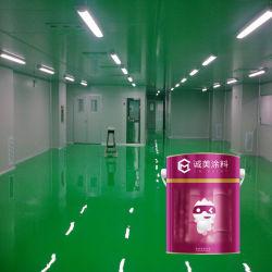 Vernice a resina epossidica resistente del pavimento del tempo ecologico di buona qualità per i pavimenti differenti