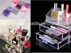 Lipstick、PerfumeのためのHg26 Clear Acrylic Rack StandかExhibition