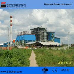 ASME/Ce/ISO 45tph 발전소 기업을%s 중간 압력 CFB 생물 자원 보일러
