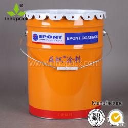 Benna dell'acciaio della benna della vernice del metallo del rifornimento 20L ONU della fabbrica