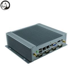 DC12V 3G sans ventilateur petit système Atom N2800 Mini PC industriel X86