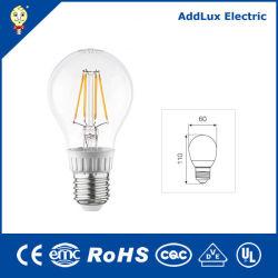 Ce style à incandescence UL Saso 110V 220V Filament Energy Star 5W E12 Lampe LED fabriqués en Chine pour la maison & Business Eclairage intérieur de la meilleure usine de gros