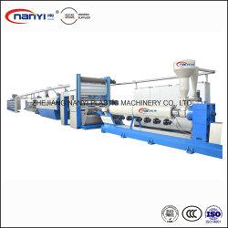 Высокая скорость пластиковые PP полипропилен плоские пряжи ленты экструзии растяжения производственной линии