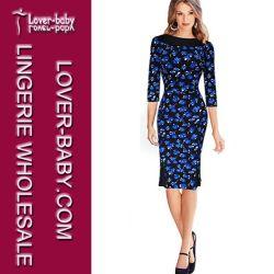 Высокое качество большого размера женщины Платье вечернее платье (L)36101-2