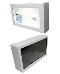 27 inch TFT LCD transparent boîte vitrine de présentation réseau WiFi annonce vidéo Player affichage publicitaire