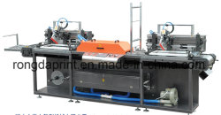 L'écran de soie à haute température de l'impression de la machine avec le convoyeur en acier inoxydable