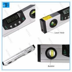 Medidor de ângulo da Ferramenta de Medição de Nível de Bolha Digital Magnética Laser com Laser 600mm