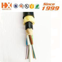 Commerce de gros Single mode Span Multimode 100m 12/24/48/96core ADSS/Câble optique Fibre optique