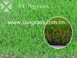 総合的な泥炭の柔らかい美化の装飾の人工的な草(SUNQ-HY00182)