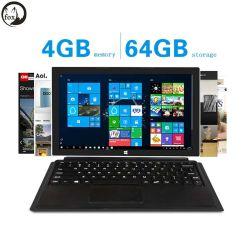 """Het fzb-Stootkussen van de vos 7s 10.8 """" IPS 1080P Tablet 2 van het Scherm in de Tabletten HDMI van 1 van Vensters van de Tablet van PC van Intel van de Kers van de Sleep Z8350 4GB Emmc van de RAM 64GB"""