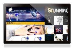 Montado na parede 18,5polegadas 6.0Tablet Android PC, toque em Ad/ Leitor de Publicidade Digital Signage com CPU quad core 2.0G, Leitor de Multimédia, tudo em um único PC,