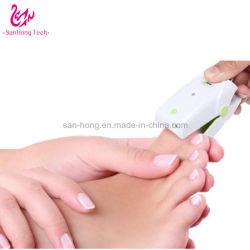 Tamaño mini portátiles Limpieza de uñas dispositivo de tratamiento para el hogar y salón de uso
