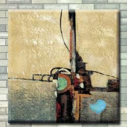 Pittura decorativa su ordinazione dell'estratto della tela di canapa della pittura a olio DIY della pittura