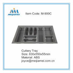 Plastiktischbesteck-Tellersegment für Schrank des Küche-Fach-900mm
