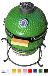 13inch mini Grote Groene BBQ van het Ei Kamado Grill voor Verkoop