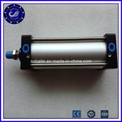 Алюминиевый поршень двойного действия с регулируемой длиной хода пневматического цилиндра