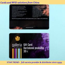 Cartões de PVC personalizada para empresas, ID, Asset, acesso, gerenciamento de adesão