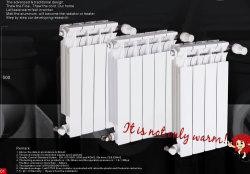 Radiator van het Aluminium van de Radiator van het Aluminium van de Gietvorm van de matrijs de Bimetaal voor Centrale verwarming