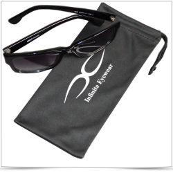 판촉용 싱글 사이드 드로스트링 극세사 선글라스 가방