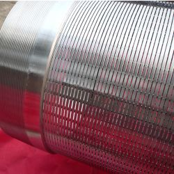 Eingewickelter Quellfilter der Edelstahl-Wasser-Vertiefungs-V Draht
