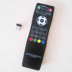 Wireless 2.4G RF Control Remoto para TV Box Android STB