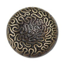 The Garment를 위한 아연 Alloy Gold Sewing Button
