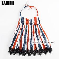 Il vestito a strisce variopinto dalla spiaggia della ragazza di estate dell'indumento del bambino della fabbrica di marca OEM/ODM scherza l'usura di svago