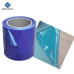 Временный персонал общего назначения сцепление синего цвета PE защитную пленку для металла