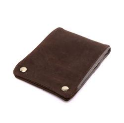 تصميم الأزياء الأصلي جلد كاوهايد زيبر محفظة بطاقة الائتمان محفظة