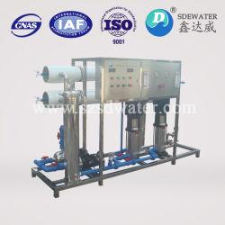 مصنع علاج مياه الشرب المعدنية أثناء تناضح التناضح العكسي (2000LPH)