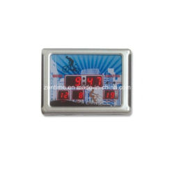 LED Digital Electronic Desk Alarm Clock مع شاشة عرض درجة حرارة التقويم