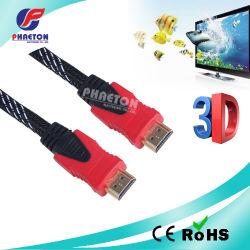 Avoirdupois di cavo della comunicazione dei dati di 4K HDMI con il ferrito di Ethernet