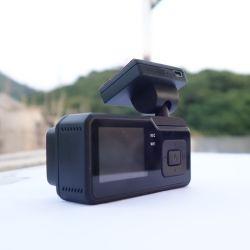 """1.5"""" pulgadas Full HD de canal dual Wifi Grabadora de vídeo digital con GPS incorporado de copia de seguridad de IMX323 resistente al agua de la cámara del sensor de 60fps a 1080P"""