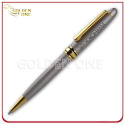 De luxueuze Pen van uitstekende kwaliteit van het Metaal van de Gravure van de Laser Gouden