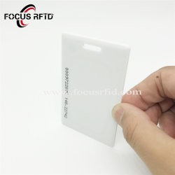 La Chine de la fabrication de gros de la RFID 125kHz carte blanche à blanc épais