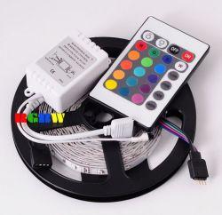 5m RGB 3528 60 LEDs 24 Keys 12V LED Strip Light Kit