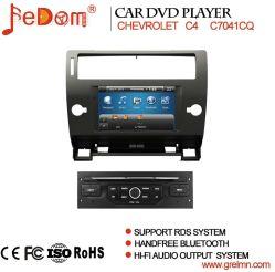 مشغل أقراص DVD للسيارة لـ Citroen C4 مع نظام الملاحة GPS