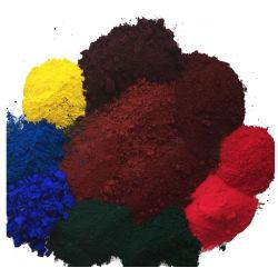 鉄酸化物の鉄酸化物の赤くか黄色か黒くか青または緑の顔料