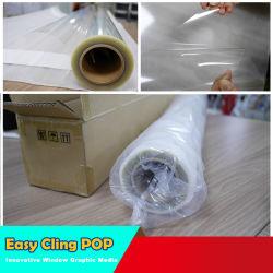 غشاء مغلف EC-Pet115u1c7 أبيض/فضي/ذهبي طباعة رقمية بنفث الحبر بورقة PVC فيلم قابل للإزالة
