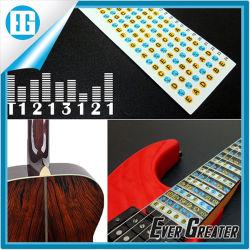Sticker van de Overdrukplaatjes van de Nota van Fretboard van de Gitaar van het Alfabet van pvc de Transparante