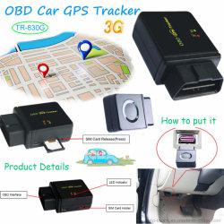 Global 2g/Bande de fréquences GSM Obdii voiture GPS tracker Tr-803c