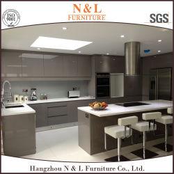 N&L современной мебелью глянцевый лак MDF деревянный шкаф на кухне High Gloss